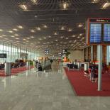 support-ecrans-aeroport