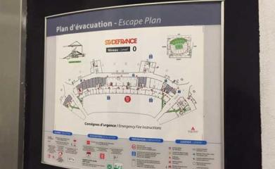 Signalétique intérieure Stade de France