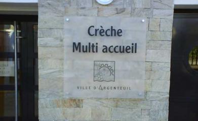 Signalétique crèche Argenteuil
